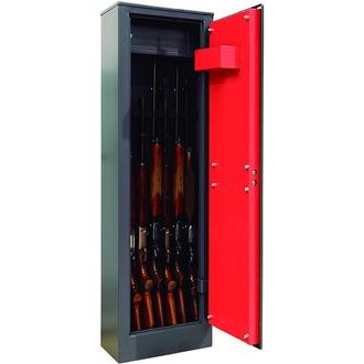 Armoire 7 fusils + coffret interne - Serrure à clé - DOMUS BRACO ARM070335