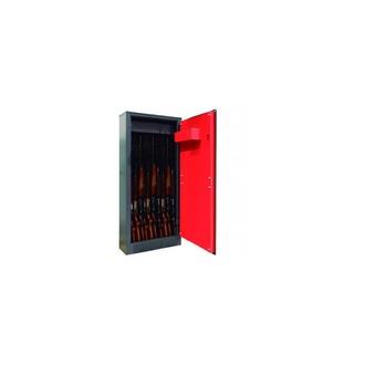 Armoire 10 fusils + coffret interne - Serrure à clé - DOMUS BRACO ARM100335
