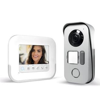 "Visiophone 2 fils avec écran 4"" et accès RFID - Ylva 3+ Compact - AVIDSEN"