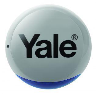 Sirène extérieure Flash 104dB grise pour système d'alarme Maison Connectée SYNC - Yale AC-BXG
