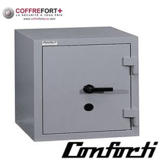 Coffre fort blindé - serrure à clé et combinaison électronique CONFORTI - C35LB