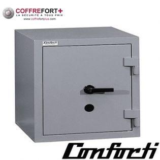 Coffre fort blindé - serrure à clé et combinaison électronique CONFORTI - CH35LB