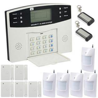 Alarme maison sans-fil et filaire transmetteur RTC - EMATRONIC AL01 PREMIUM