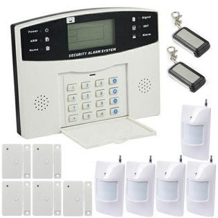 Alarme maison sans-fil et filaire EMATRONIC AL01 PREMIUM