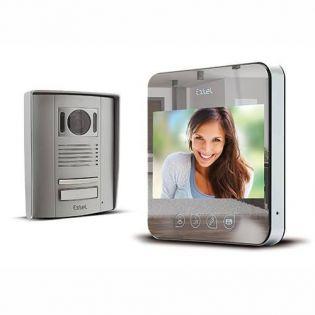 Visiophone vidéo filaire effet miroir - EXTEL QUATTRO²