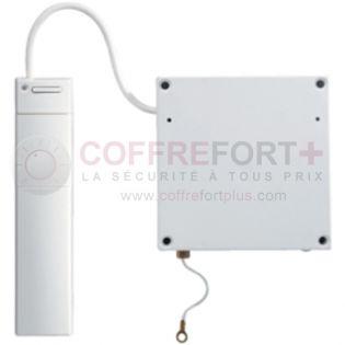 Détecteur d'ouverture sans-fil volet roulant blanc intérieur HAGER S231-22X