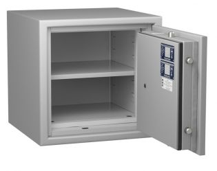 Coffre fort ignifuge - Protection vol et feu - Serrure électronique classe 2 VDS  - HARTMANN PROTECT DUO PR1040G4 CLASSE 1 (Valeur assurable 25 000€)