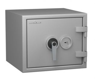 Coffre fort ignifuge 1 heure - Protection Vol et Feu - Serrure à clé A2P - HARTMANN PROTECT DUO PR0034G1 CLASSE 0 (Valeur assurable 8000€)
