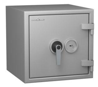 Coffre fort ignifuge 1 heure - Protection Vol et Feu - Serrure à clé A2P - HARTMANN PROTECT DUO PR0040G1 CLASSE 0 (Valeur assurable 8000€)