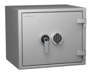 Coffre fort ignifuge 1 heure - Protection Vol et Feu - Serrure électronique classe 2 VDS - HARTMANN PROTECT DUO PR0066G4 CLASSE 0 (Valeur assurable 8000€)