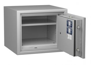 Coffre fort ignifuge 1 heure - Protection Vol et Feu - Serrure à clé A2P - HARTMANN PROTECT DUO PR1054G1 CLASSE 1 (Valeur assurable 25 000€)