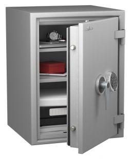 Coffre fort ignifuge 1 heure - Protection Vol et Feu - Serrure électronique classe 2 VDS - HARTMANN PROTECT DUO PR1060G4 CLASSE 1 (Valeur assurable 25 000€)