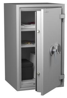 Coffre fort ignifuge 1 heure - Protection Vol et Feu - Serrure électronique classe 2 VDS - HARTMANN PROTECT DUO PR1080G4 CLASSE 1 (Valeur assurable 25 000€)