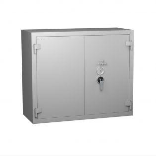 Armoire forte blindée - Serrure à clé A2P + combinaison 4 tubes compteurs - HARTMANN STAR PROTECT SP0500G2