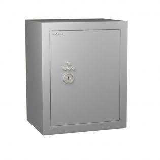 Coffre fort de sécurité anti-feu - serrure à clé + combinaison 4 tubes compteurs A2P -  HARTMANN VULCAIN 130