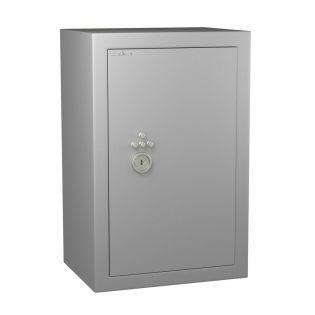 Coffre fort de sécurité anti-feu - Serrure à clé + combinaison 4 tubes compteurs A2P - HARTMANN VULCAIN 170