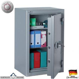 Coffre fort Double Protection Vol et Feu - Serrure à clé + électronique classe 2 VDS - HARTMANN ZEPHIR DUO ZR 1339 CLASSE 1