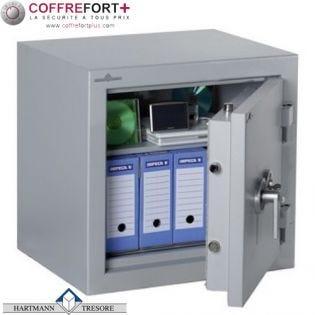 Coffre fort Double Protection Vol et Feu - Serrure électronique Z03 Rotary Bolt - HARTMANN - ZEPHIR DUO ZR 2084 CLASSE 2