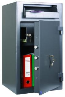Coffre fort de dépôt - Serrure à clé - Classe S1 - ICARSAFE DEPOSIT 2 ASD 32