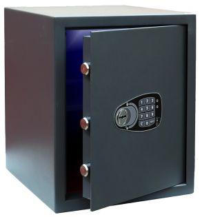 Coffre fort de sécurité - Serrure à clé et électronique - ICARSAFE SMART 2