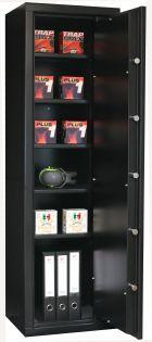 Coffre fort pour armes de poing - Serrure électronique - INFAC SAFE ETAGERE C15SE
