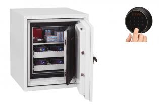 Coffre fort ignifuge supports informatiques - Serrure électronique et biométrique - PHOENIX DATACARE DS2003F