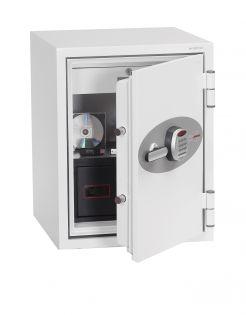 Coffre fort ignifuge supports informatiques - Serrure électronique - PHOENIX DATA COMBI DS2501E