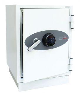 Coffre fort ignifuge supports informatiques - Serrure biométrique - PHOENIX FS0441F