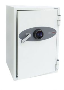 Coffre fort ignifuge supports informatiques - Serrure biométrique - PHOENIX FS0442F