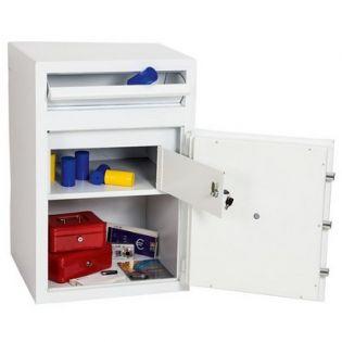 Coffre fort de sécurité avec caisse de dépôt d'argent - Serrure électronique - PHOENIX SS0998E