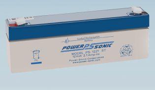 Batterie 12V 2.1AH - POWER SONIC PS 1221GB
