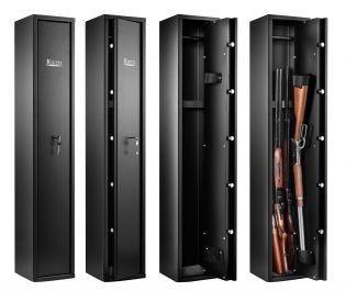 Armoire 5 fusils - Serrure à clé - RIETTI CR2204