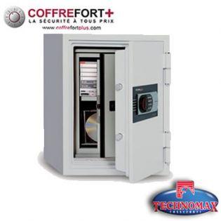 Coffre fort ignifuge - Serrure électronique - 125-SDE
