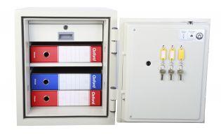 Coffre fort ignifuge - Serrure à clé certifiée A2P KABA MAUER - TECHNOMAX 50-NGS