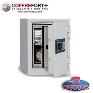 Coffre fort ignifuge - Serrure à clé - 530-SDBK