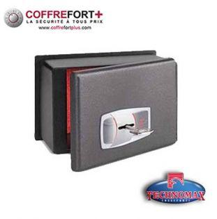 Coffre fort de sécurité pour voiture - Serrure à clé TECHNOMAX - CS-0