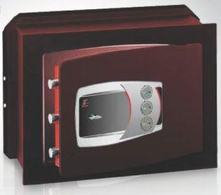 Coffre-fort encastrable à clé double panneton et combinaison TECHNOMAX DM/4L