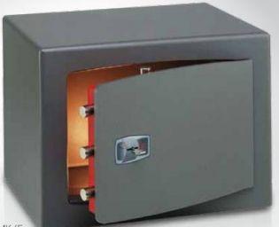 Coffre fort de sécurité à poser - Serrure à clé double panneton DMK/7