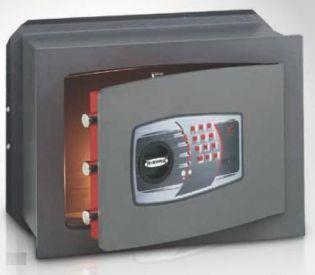 Coffre-fort encastrable serrure électronique 340x460x200mm TECHNOMAX DT/5P