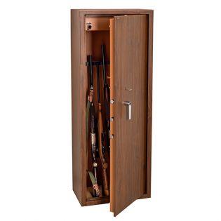 Armoire 10 fusils + coffret interne - Serrure à clé - TECHNOMAX TCL/10