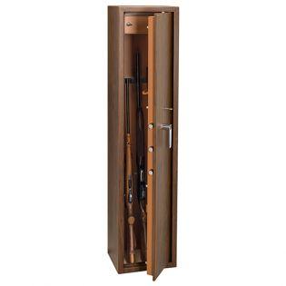 Armoire 5 fusils + coffret interne - Serrure à clé - TECHNOMAX TCL/5