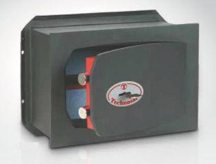 Coffre-fort encastrable serrure clé double panneton TECHNOMAX TK/2