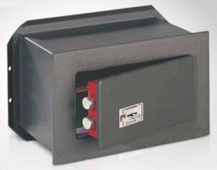 Coffre-fort encastrable avec serrure à clé double panneton TECHNOMAX TK/3