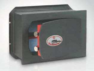 Coffre-fort encastrable avec serrure à clé double panneton TECHNOMAX TK/5