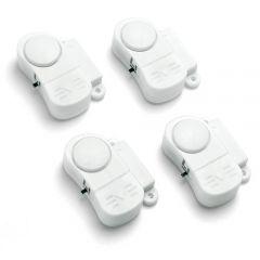 Pack de 4 mini alarmes pour porte et fenêtre - AVIDSEN