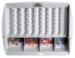 Caissettes à monnayeur EURO - ZE 300 Euro - BURG WÄCHTER