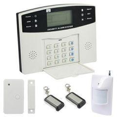 Alarme maison sans-fil et Filaire avec transmetteur GSM EMATRONIC AL01