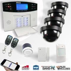 Alarme maison sans fil Pack Sécurité Basic EMATRONIC Al01