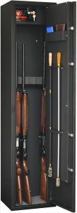 Armoire 6 fusils + coffret interne - Serrure à clé - FORTIFY DELTA 6