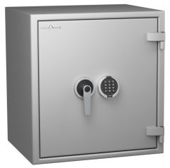Coffre fort ignifuge 1 heure - Protection Vol et Feu - Serrure électronique classe 2 VDS - HARTMANN PROTECT DUO PR0093G4 CLASSE 0 (Valeur assurable 8000€)